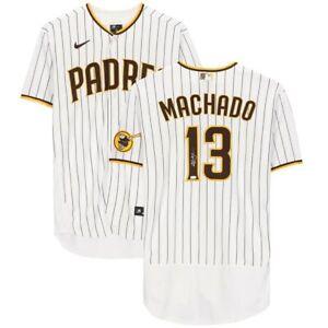 MANNY MACHADO Autographed Padres Authentic Nike Pinstripe Jersey FANATICS
