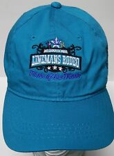 INTERNATIONAL LINEMAN'S RODEO Tools of the Trade COWBOY ADVERTISING Teal Hat Cap