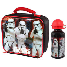 Star Wars Stormtrooper Lunch Bag and Aluminium Drink Bottle *BRAND NEW*