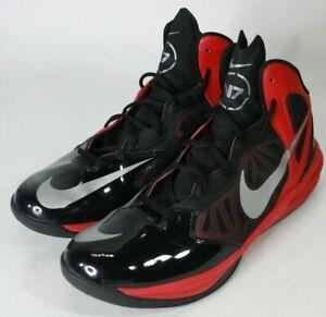 Nike Prime Hype DF Basketball Shoes Red/Black/Silver Men's Sz 13 700905-066