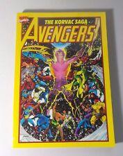 Avengers The Korvac Saga TPB (1991 Marvel) 1st Edition #1-1ST NM+