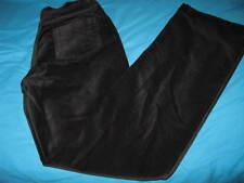 NEW DG2 Diane Gilman Stretch Velvet Jean Pant Small 4 BootCut Black  RT $69.00