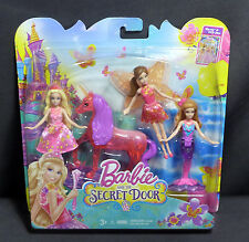 New Barbie and The Secret Door Small Doll Giftset