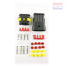 Steckerset 1-6 polig 0,75-1,50 mm2 für AMP Superseal wasserdicht Auto KFZ LKW