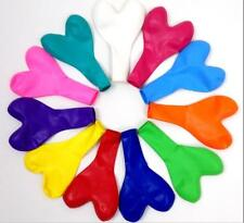 50 pcs Mixed color heart  Latex Balloon Wedding Birthday Bachelorette Party