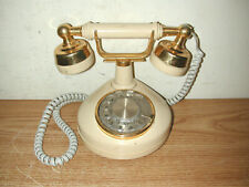 Vintage Western Electric Regal French Style Rotary Dial Desk Telephone, Works