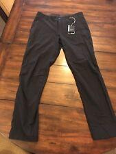 NWT NIKE GOLF Flex Dynamic Woven Slim Fit Pants 833186 010 Black Mens Sz 34 x 32
