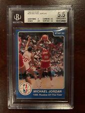1984-85 Star #288 Michael Jordan ROY BGS 5.5 (New Slab)