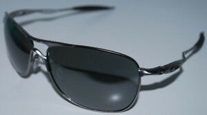 Oakley Crosshair Sunglasses OO4060-2261 Lead/Prizm Black Polarized NEW