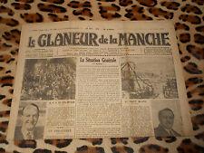 Journal LE GLANEUR DE LA MANCHE, n° 3099, 05/03/1938 - Saint Hilaire du Harcouët