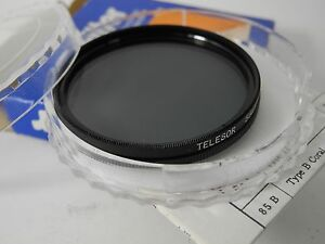 POLARIZER FILTER 55MM BY TELESOR PERFECT BOXED WITH INSTRUCTION SHEET PERFECT