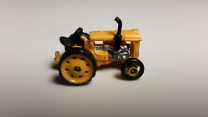 Galoob Micro Machines Yellow Tractor