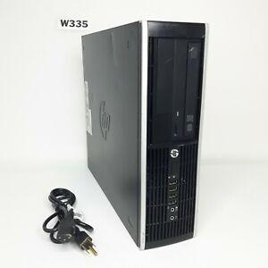 HP COMPAQ PRO 6305 AMD A8-5500B APU 3.20GHz 4GB 250GB HDD WIN 10 PRO 64BIT W335