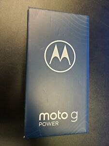 New Sealed Motorola Moto G Power 64GB Flash Gray Factory Unlocked XT2117-4