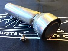 Baffle DB Killer to fit 53 mm Akrapovič Angled Outlet Race Exhaust Can Silencer