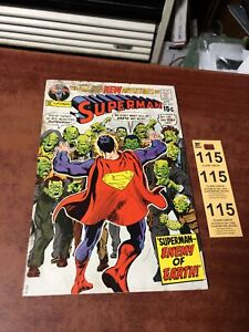 Superman #237 ORIGINAL Vintage 1971 DC Comics