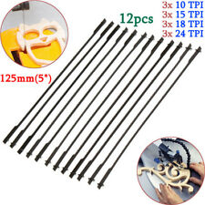12pcs 5 Inch 125mm Pinned Scroll Saw Blade Wood Working Power Tool Accessories