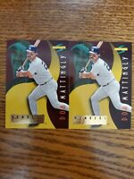 1996 Score Numbers Game Insert #23 Don Mattingly New York Yankees lot of 2