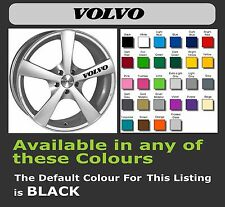VOLVO Decals/Stickers for Alloy Wheels  x 6