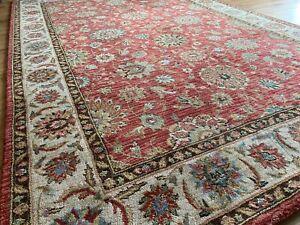 John Lewis Living Treasures 100% Wool Keshan Persiana Oriental Rug 2.52 x 1.68 m