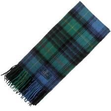 New Long Neck Stewart Hunting Ancient Tartan Scarf - Scottish Wool Clan Scarves