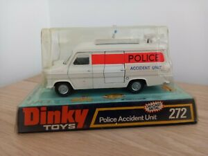 DINKY TOYS GB 1/43 FORD POLICE ACCIDENT UNIT EN BOITE D'ORIGINE