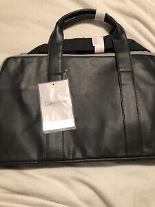 Calvin Klein Fragrances Men's Grey  Duffle Bag New Never Used. Authentic