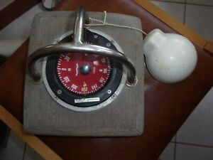 Plastimo France compass with protective cover