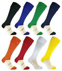 Long Knee High Football Soccer Socks in Mens Youth Boys Kids Sizes by ROLY