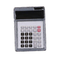 1:12 Dollhouse Metal Calculator Home Office School Miniature Accessory Decor EF