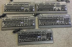 Lot of 5 Lenovo USB Keyboards KU-0225, KB-1021,& SK-8825 Mixed Lot
