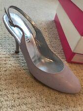 Magrit Cuero Piel De Avestruz Lila Zapatos 36