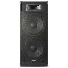 "SKYTEC 178.486 Dual 15"" Active Powered DJ Speaker 1600 Watt"
