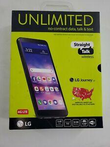 "LG Journey Straight Talk LG Journey Smartphone STLGL322DCPWP 5.45"" Brand New"