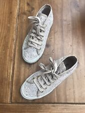 Superga Fille/Femme Style High Top Sneakers Chaussures Beige/Ivoire UK 2.5 Eu35