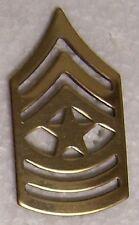 Hat Lapel Push Tie Tac Pin Army Rank Insignia Sergeant Major E-9 NEW