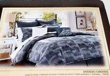 Tommy Bahama Indigo Ombre Euro Pillow Sham Blue -  MSRP $80