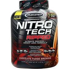 Muscletech Nitro Tech Ripped - Performance Series Chocolate Fudge Brownie 4 lbs