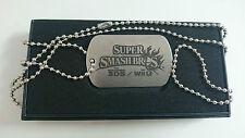 Super Smash Bros : Dog Tag/Pendant/Strap Nintendo  [Collector - WiiU/3DS]