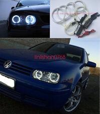 4pcs Excellent CCFL 7000K Angel Eyes kit Halo Rings For VW Golf 4 2003 2004 2005