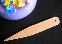 Beige Einheitsgr/ö/ße EZ Quilting Pointer Creaser Wender aus Bambus