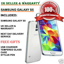 Samsung Galaxy S5 SM-G900F 16GB 4G Unlocked Smartphone Shimmery White UK