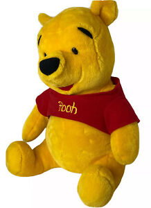 "LARGE Winnie the Pooh Disney Plush Stuffed Animal 21"" Mattel Over 2lbs! CLEAN"