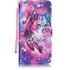 Magnetic PU Leather Wallet W/ Strap Flip Case Cover For Samsung Galaxy J3 2016