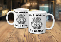 Merchant Navy Personalised Coffee/Tea Mug