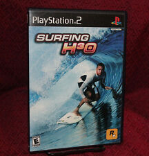 Surfing H30 PS2 Playstation COMPLETE CIB Rockstar Free Shipping