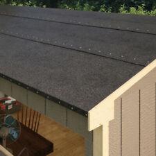 BillyOh Black Mineral Roofing Felt 5M 7M 10M DIY Shed Workshop Felt Roll