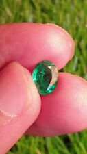 Natural vivid green emerald from Ethiopia excellent color and lustre 1.28ct