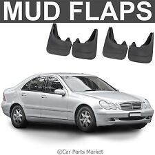 Mud Flaps Splash guard for Mercedes C Class CL203 W203 set of 4x front and rear