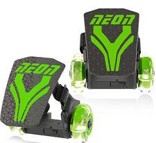 Yvolution Neon Street Rollers Roller Skates Kids Green New in Package Led Lights